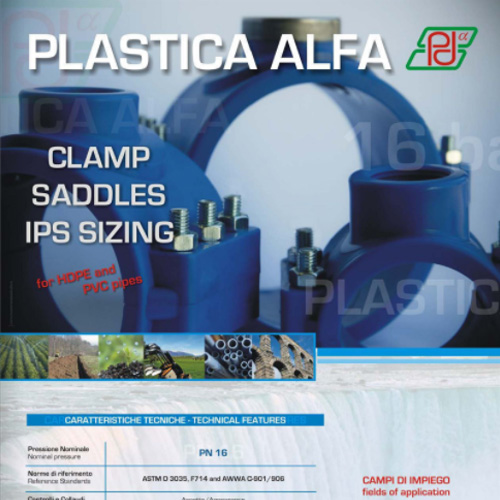Plastica Alfa | Clamp Saddle