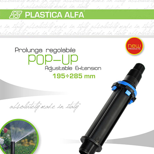 Plastica Alfa | Prolunga Pop Up